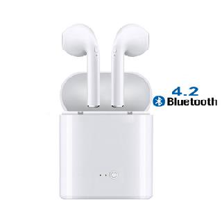 i7S TWS Double Twin Bluetooth/Wireless/Mini/In-Ear/Sport Earphones, 100 Units, New Condition, Est. Original Retail $6,500,  Shenzhen, Guangdong
