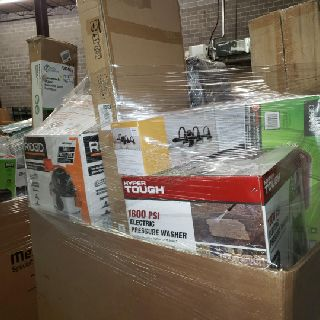 2 Pallets Home Goods, Tools & More, 400 Units, Customer Returns, Est. Original Retail $3,600, Atlanta, GA