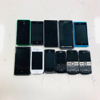Nokia, Samsung & BlackBerry Phones, 150 Units, Salvage Condition, Est. Original Retail $7,350, Mississauga, ON