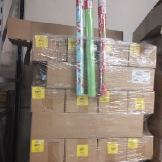 Christmas Wrapping Paper, 360 Units, New Condition, Est. Original Retail $3,600, Atlanta, GA