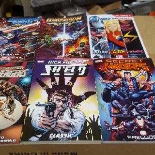 Marvel Comic Books, Secret Wars, Avengers, A-Force, Guardians & More, 150 Units, New Condition, Est. Original Retail $3,148, Grand Prairie, TX