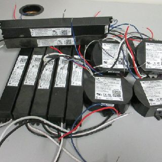 Thomas Research Products Constant Current Dimmable & More LED Drivers, 600 Units, Used Condition, Est. Original Retail $15,000, Grand Prairie, TX