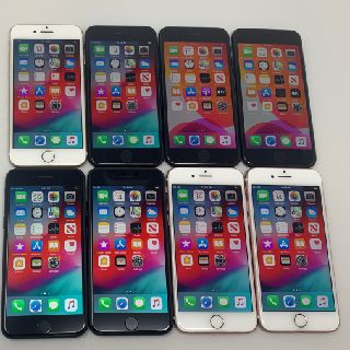 Apple iPhone 7, Mixed Storage & Carriers, 8 Units, Used Condition, B Grade, Est. Original Retail $5,192, Allen, TX