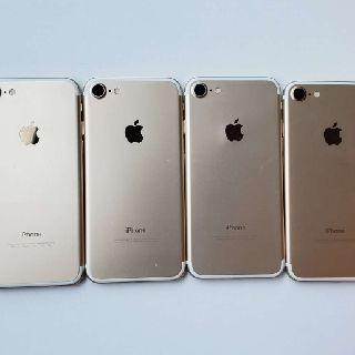 Apple iPhone 7, 128GB, Gold, GSM Unlocked, 4 Units, Used Condition, B Grade, Est. Original Retail $3,000, Lawrence, KS