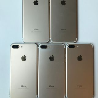 Apple iPhone 7 Plus, 32GB, Gold, GSM Unlocked, 6 Units, Used Condition, A Grade, Est. Original Retail $4,500, Lawrence, KS