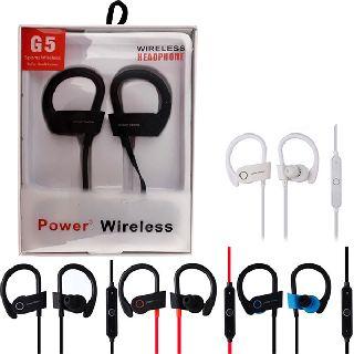 Power3 Wireless Headphones Sports Wireless Earbuds, 60 Units, New Condition, Est. Original Retail $1,799, Fresh Meadows, NY