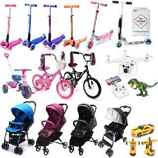 Stroller, Kids Rides-On, Car Toys, JJRC H68 Drone & More, 176 Units, Customer Returns, Est. Original Retail $4,916, Huntington Station, NY