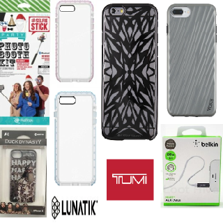 TUMI, Lunatik, Belkin, Retrak & More iPhone Accessories, 192 Units, New Condition, Est. Original Retail $4,078, Gardena, CA
