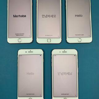 Apple iPhone 7 Plus, Rose Gold, 128GB, T-Mobile, 5 Units, Used Condition, B Grade, Est. Original Retail $3,500, Irving, TX