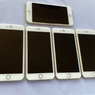 Apple iPhone 6s Plus, 32GB, Gold, Factory Unlocked, 5 Units, Used Condition, B Grade, Est. Original Retail $3,750, Plantation, FL