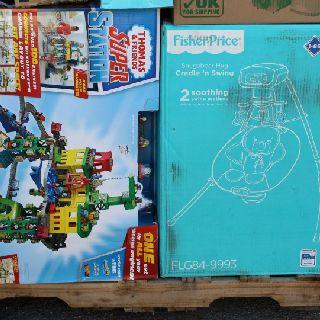 Fisher-Price & Mattel Warehouse Pulls, Various Toys & Baby Products, 291 Units, Shelf Pulls, Est. Original Retail $3,871, Fontana, CA