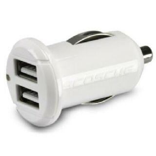 Dual 10 Watt 2.1A USB Fast-Charge Car Charger, White, 100 Units, New Condition, Est. Original Retail $1,899, huntington, WV