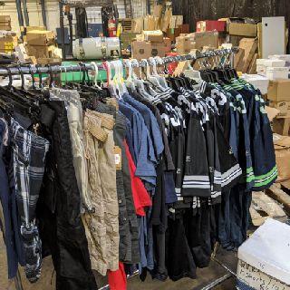 Large Lot of Assorted Clothing, 224 Units, Shelf Pulls, Est. Original Retail $6,046, Lancaster, PA