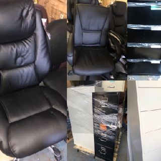 Full Truckload of Dot Com Office Furniture, Desks, Cabinets, Chairs & More, 124 Units, Customer Returns, Est. Original Retail $30,737, Philadelphia, P