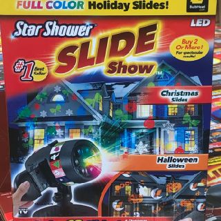 As Seen On TV Star Shower Slide Show Laser Magic, Christmas & Halloween, 80 Units, New Condition, Est. Original Retail $3,199, Philadelphia, PA