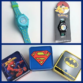 Kid's Watches ft Pokemon, The Avengers, Spider-Man, Batman & More, 177 Units, Customer Returns, Est. Original Retail $2,199, Schaefferstown, PA