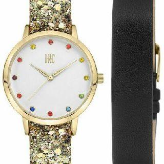 INC Women's Faux Leather Watch with Interchangeable Strap Gift Sets, 63 Sets, Shelf Pulls, Est. Original Retail $3,779, Hawthorne, CA