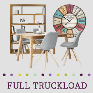 Truckload of Entertainment, Kitchen & Dining Furniture, Wall Art & More, 433 Pieces, Customer Returns, Ext. Sale Price €30,992, Kassel, DE