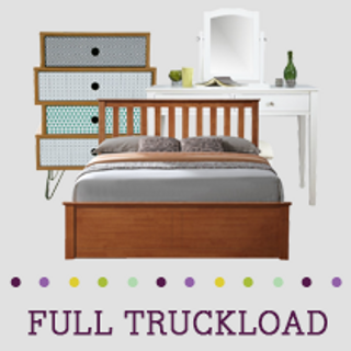 Truckload of Bedroom, Kitchen, Dining & Entertainment Furniture & More, 116 Pieces, Customer Returns, Ext. Sale Price €31,716, Kassel, DE
