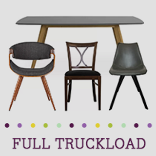Truckload of Kitchen, Dining & Entertainment Furniture, Lighting & More, 416 Pieces, Customer Returns, Ext. Sale Price €29,291, Kassel, DE