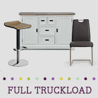 Truckload of Kitchen & Dining Furniture, Decorative Accents, Lighting & More, 401 Pieces, Customer Returns, Ext. Sale Price €30,390, Kassel, DE