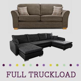 Truckload of Upholstery & Bedroom Furniture, 14 Pieces, Customer Returns, Ext. Sale Price €10,778, Kassel, DE