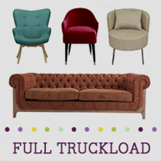 Truckload of Kitchen & Dining Furniture, Lighting, Upholstery, Bedding & More, 480 Pieces, Customer Returns, Ext. Sale Price €36,760, Kassel, DE