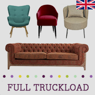 LEICESTERSHIRE, UK, Truckload of Upholstery, Home Office & Outdoor Furniture & More, 154 Pieces, Customer Returns, Ext. Sale Price £31,248