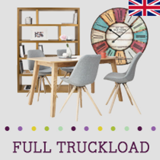 LEICESTERSHIRE, UK, Truckload of Kitchen & Dining Furniture, Rugs, Lighting & More, 383 Pieces, Customer Returns, Ext. Sale Price £29,357