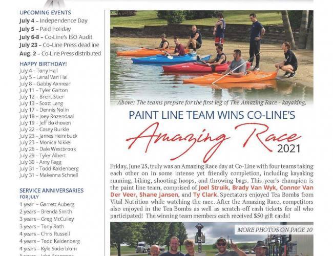 July Co-Line Press