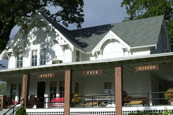 The Ralph H. Deets Museum was once the site of the Polk County Headquarters.