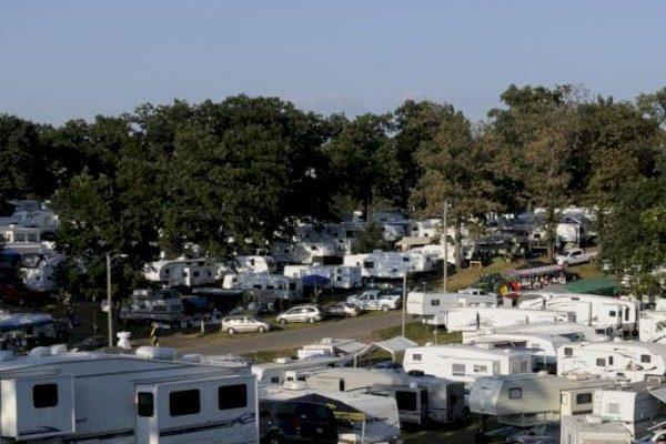 Camping at the Fair