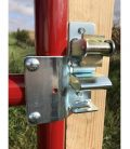 Lockable One-Way Latch and Pin