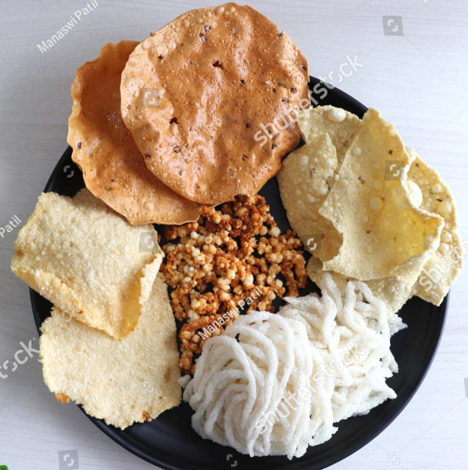 Traditionally Handmade Papads, Chutney & Masala