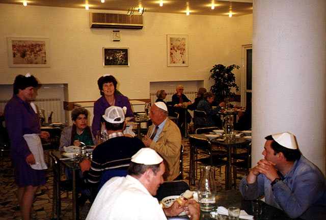 Kosher Restaurant Of The Jewish Community In Bucharest