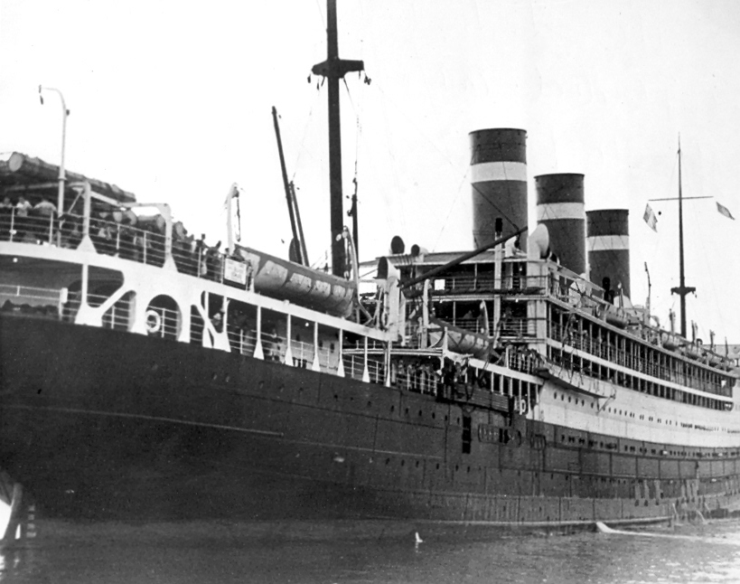 The SS Patria which was sank in Haifa Port in November 24, 1940 ...
