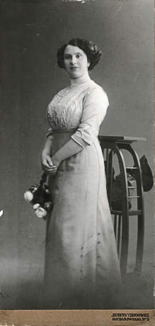 Antonia Diamant (ne'e Ozlich), Czernowitz, Bukovina (Austro