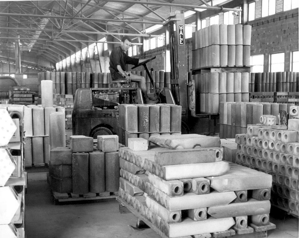 Workers In Harsa Factory In Beer Sheba Israel 1950 1960