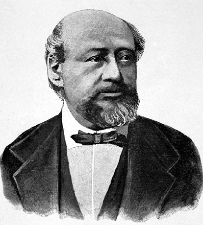 Mischa Hauser violin virtuoso (1822-1887), born in