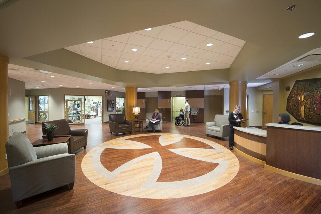 Benedictine Duluth Lobby