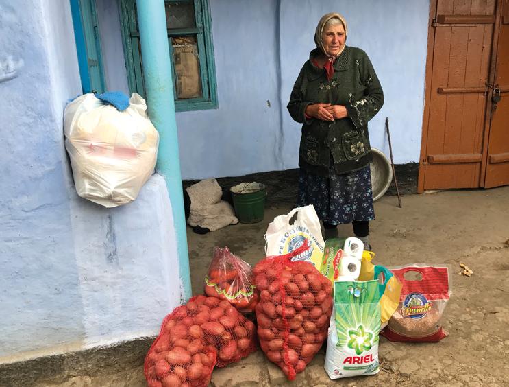 Armut-Menschen in Not