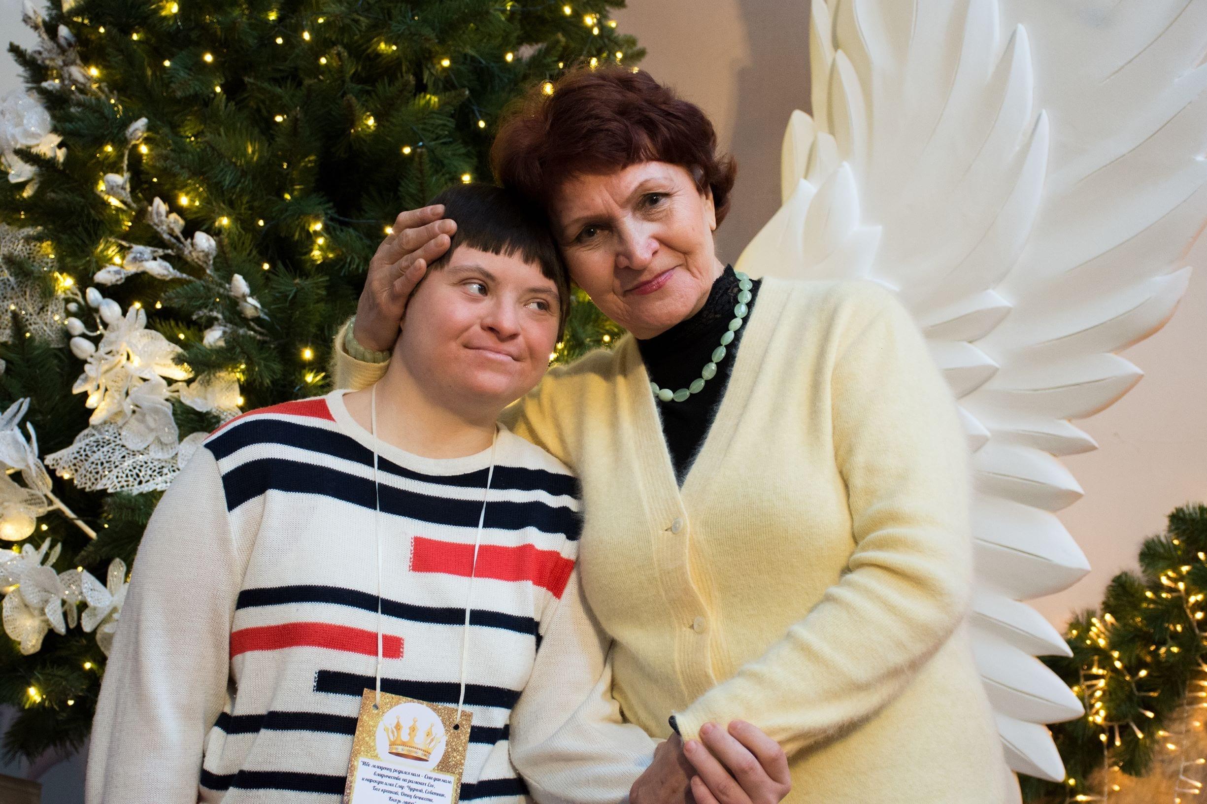 Оля Ивашина с мамой Светланой