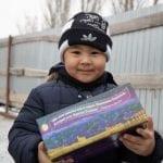 Junge aus Kasachstan