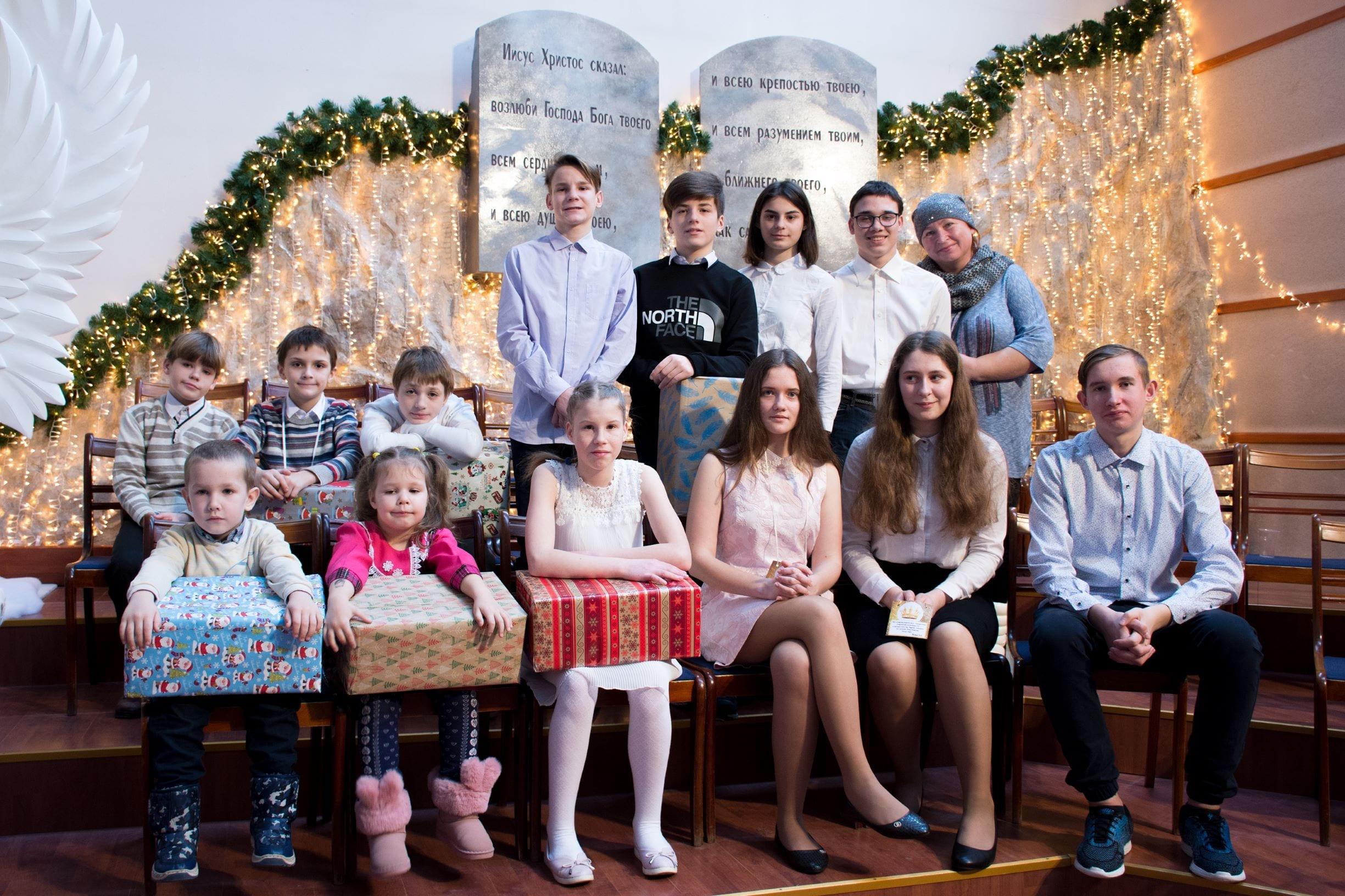 Приемная семья Марии Найда
