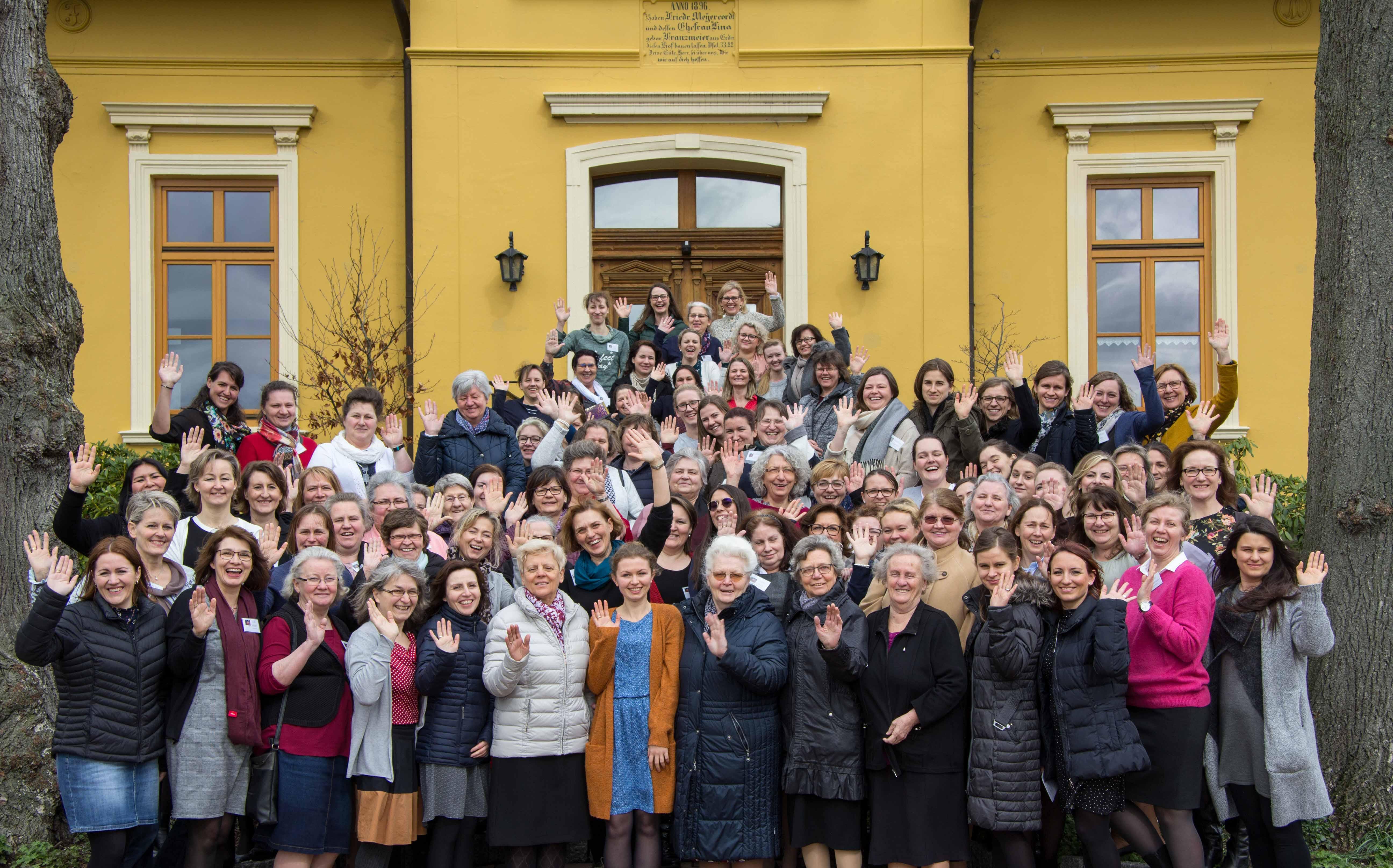 Frauenfreizeit Gruppenfoto