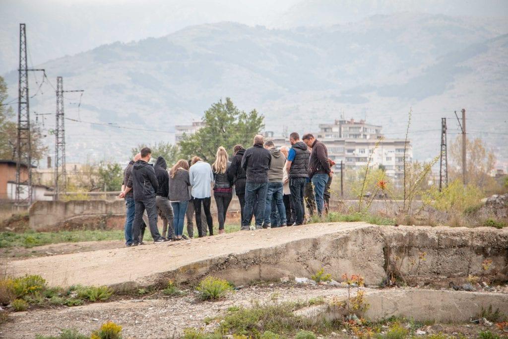 Bulgarien-Gruppe-beten