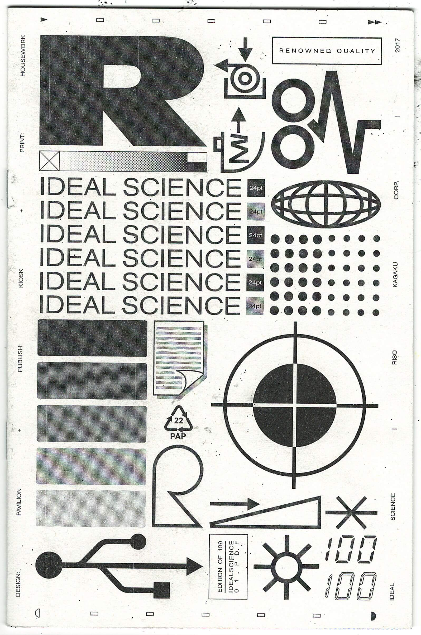 Ideal Science: A Risographic Survey