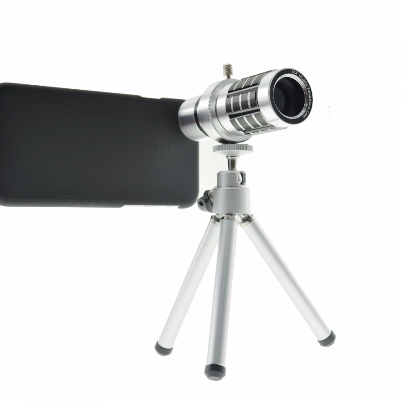 hot sale online 3c867 1b169 12X Zoom Optical Telephoto Lens Telescope for Iphone 6 plus or _s Plus