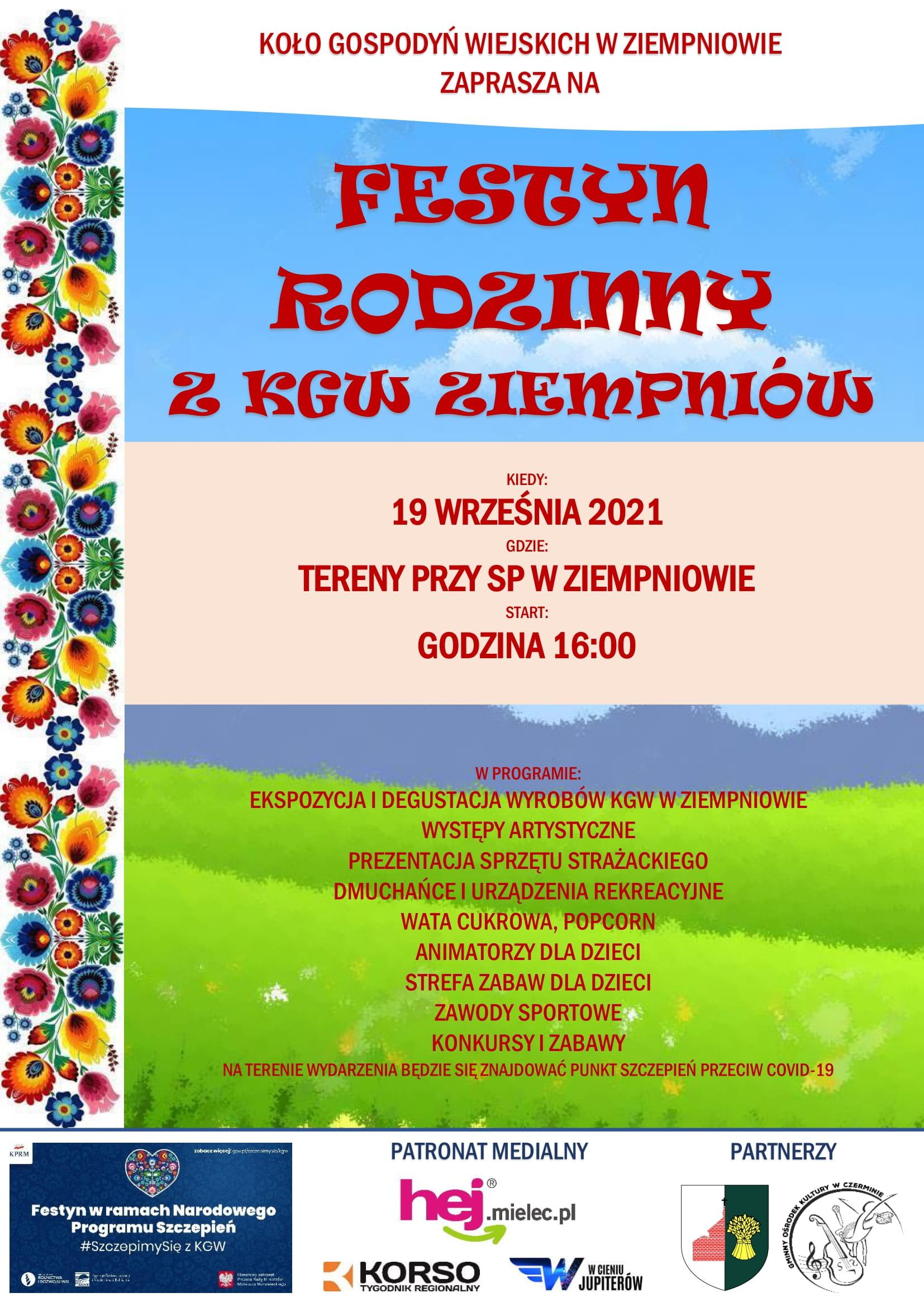Festyn Rodzinny w Ziempniowie