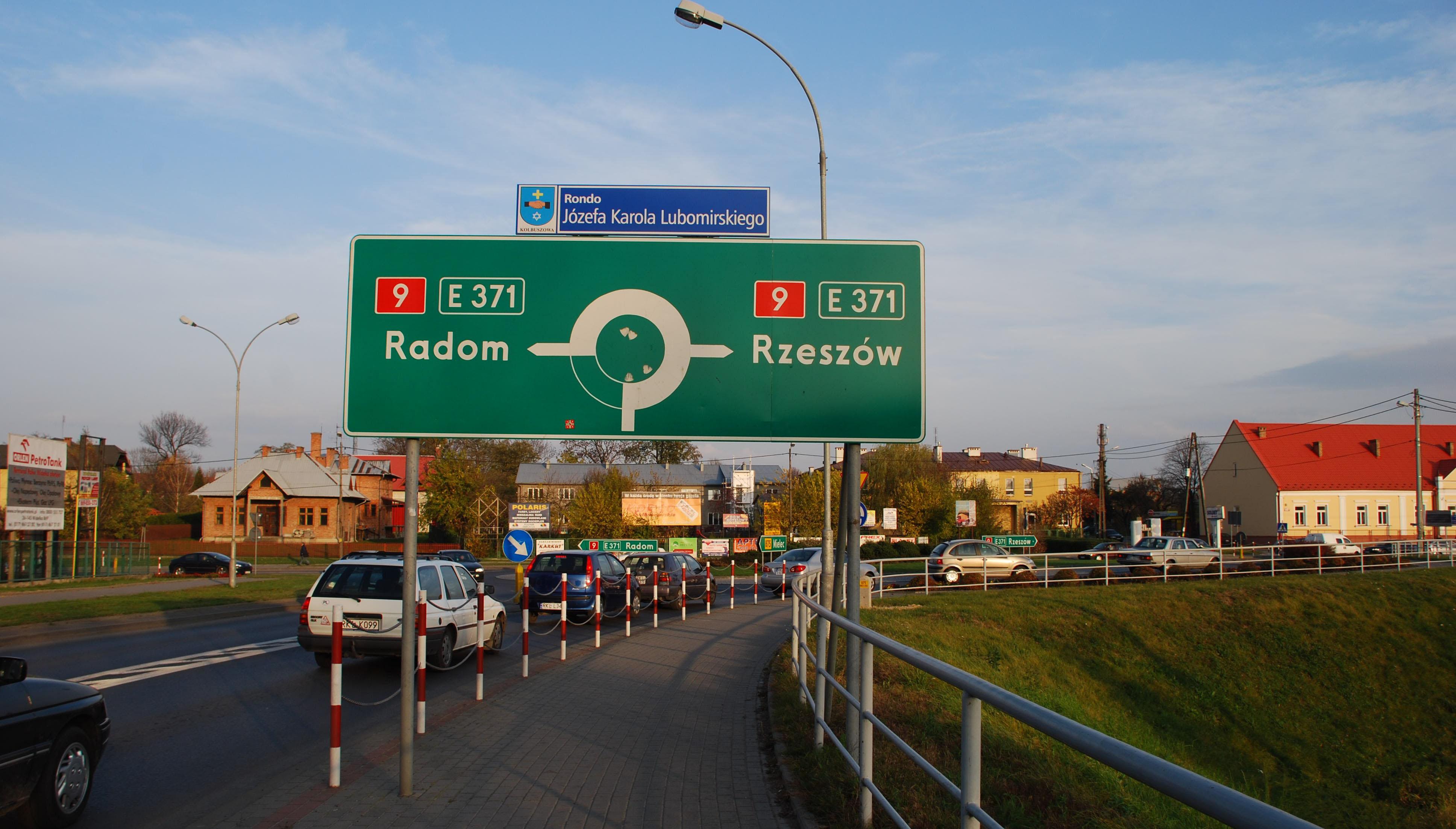 Rondo Lubomirskiego w Kolbuszowej